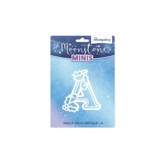 Moonstone Minis - Holly Jolly Initials - A
