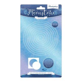 Moonstone Dies - Duo-Stitched Nesting Dies - Circles