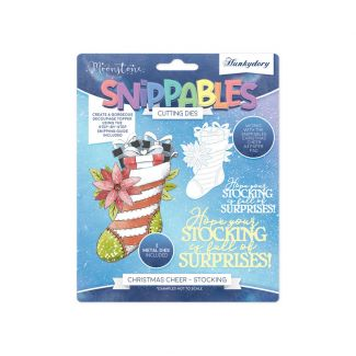 Moonstone Dies - Snippables Christmas Cheer - Stocking