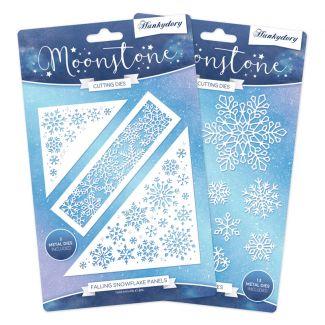 Moonstone Dies - Snowflakes Multibuy