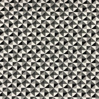 Chatham Glyn New World Fabric - Monochrome Big Holland