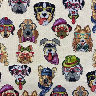 Chatham Glyn New World Fabric - Dogs