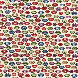 Chatham Glyn New World Fabric - Lips