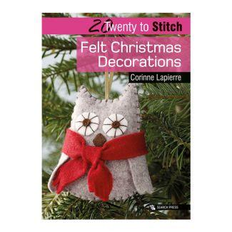 20 to Make - Felt Christmas Decorations