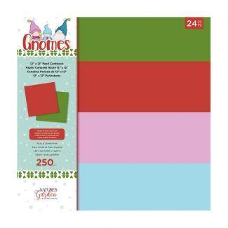 """Gnome - 12"""" x 12"""" Pearl Cardstock Pad"""