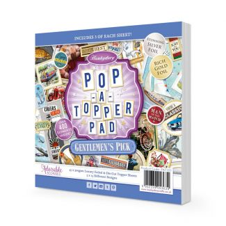 Pop-a-Topper Pad - Gentlemen's Pick