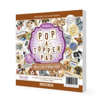 Pop-A-Topper Pad - It's A Cat's & Dog's Life