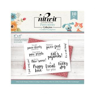 Pawsitivity - Clear Acrylic Stamp Set