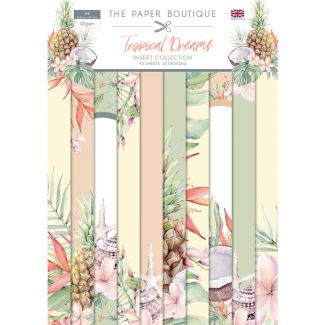 The Paper Boutique Tropical Dreams A4 Insert Collection