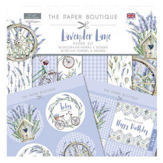 The Paper Boutique Lavender Lane Paper Kit