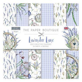The Paper Boutique Lavender Lane 8x8 Paper Pad