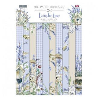 The Paper Boutique Lavender Lane Insert Collection