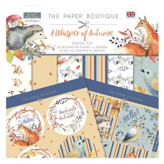 The Paper Boutique A Whisper of Autumn Paper Kit
