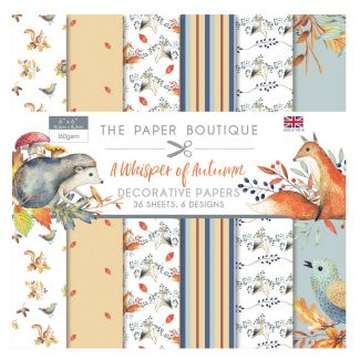 The Paper Boutique A Whisper of Autumn 6 x 6 Paper Pad
