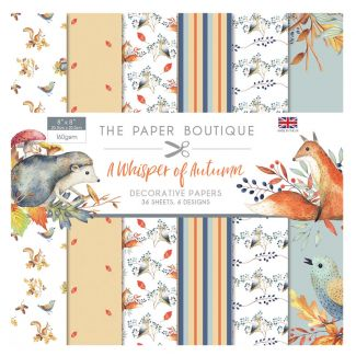 The Paper Boutique A Whisper of Autumn 8 x 8 Paper Pad