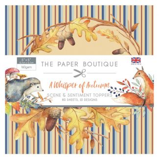 The Paper Boutique A Whisper of Autumn 5 x 5 Sentiments Pad