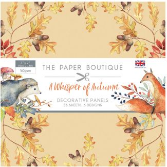 The Paper Boutique A Whisper of Autumn 7 x 7 Panel Pad