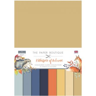 The Paper Boutique A Whisper of Autumn Colour Card Collection