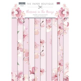 The Paper Boutique Blossoms in the Breeze A4 Insert Collection