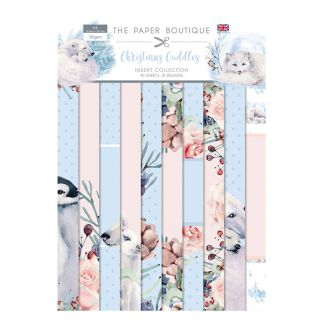The Paper Boutique Christmas Cuddles Insert Collection (40 A4 sheets, 10 designs)