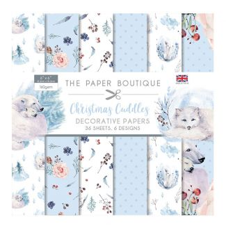 """The Paper Boutique Christmas Cuddles 6"""" x 6"""" Paper Pad (36 sheets, 6 designs)"""
