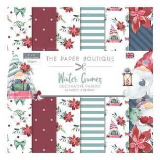 "The Paper Boutique Winter Gnomes 8"" x 8"" Paper Pad"