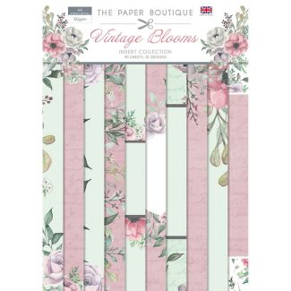 The Paper Boutique Vintage Blooms Insert Collection