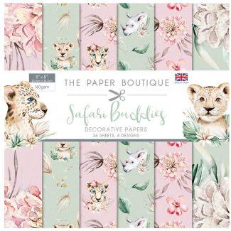 "The Paper Boutique Safari Buddies - 8"" x 8"" Paper Pad"