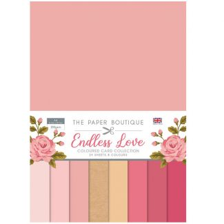 The Paper Boutique Endless Love Colour Card Collection