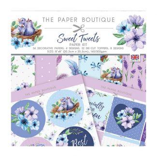 The Paper Boutique Sweet Tweets Paper Kit