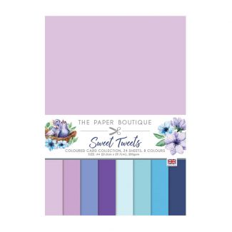 The Paper Boutique Sweet Tweets Colour Card Collection