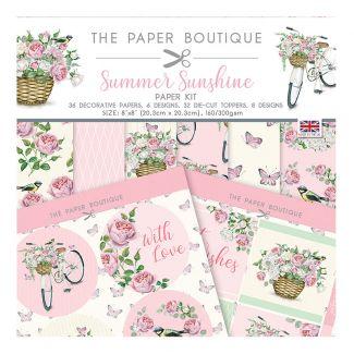 The Paper Boutique Summer Sunshine Paper Kit