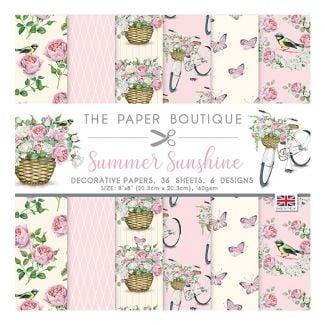 "The Paper Boutique Summer Sunshine 8"" x 8"" Paper Pad"