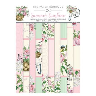 The Paper Boutique Summer Sunshine A4 Insert Collection