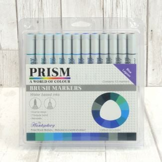 Prism Brush Markers - Blue Lagoon