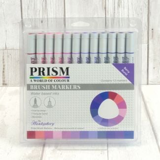 Prism Brush Markers - Berry Burst