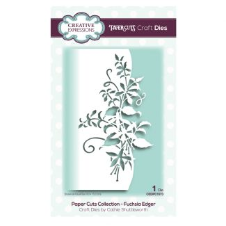 Paper Cuts Collection - Fuchsia Edger Craft Die