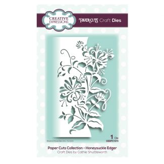 Paper Cuts Collection - Honeysuckle Edger Craft Die