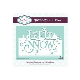 Paper Cuts Collection - Let It Snow Edger