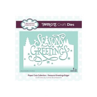 Paper Cuts Collection - Seasons Greetings Edger