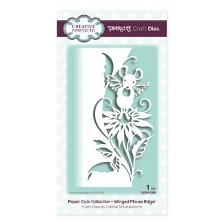 Paper Cuts Collection - Winged Mouse Edger Craft Die