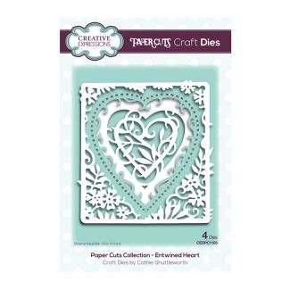 Creative Expressions Paper Cuts Entwined Heart  Craft Die