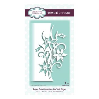 Creative Expressions Paper Cuts Daffodil Edger Craft Die