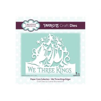 Paper Cuts We Three Kings Edger Craft Die