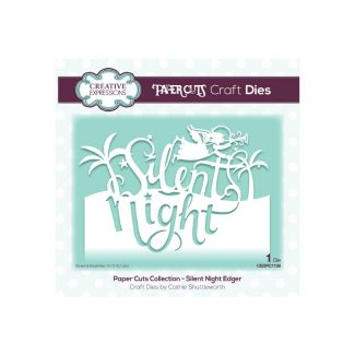 Paper Cuts Silent Night Edger Craft Die