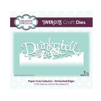 Creative Expressions Paper Cuts Edger - Drinkerbell Craft Die