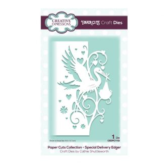 Creative Expressions Paper Cuts Edger Special Delivery Craft Die