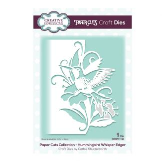 Creative Expressions Paper Cuts Edger Hummingbird Whisper Craft Die
