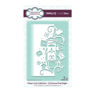Paper Cuts Collection - Christmas Post Edger Craft Die