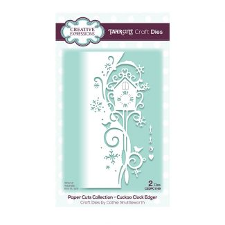 Paper Cuts Collection - Cuckoo Clock Edger Craft Die